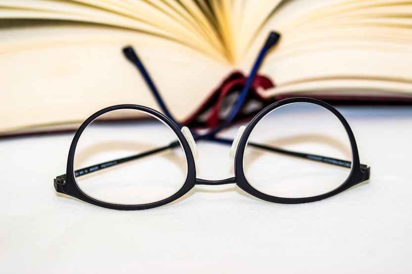 accessory blur book close up